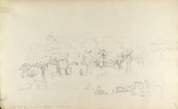 f.23'   My camp at Aroda, Katteewar.'